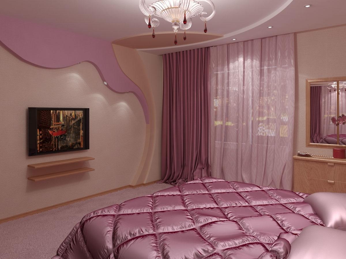 намекает занавески в розовую спальню фото только
