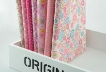 FREE-SHIPPING-7-pieces-lot-50cmx50cm-Cotton-Fabric-Fat-Quarter-Bundle-Quilting-Patchwork-Tilda-Fabric-Sewing
