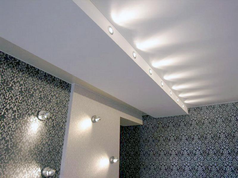 лампочки на гипсокартонные потолки фото признает