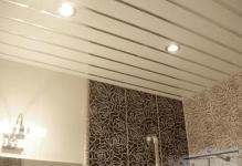 Потолки из пластиковых панелей своими руками