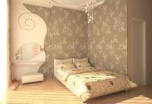 variant-dizajna-oboev-spalni