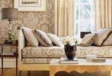 damask-wallpaper-wall-decorations-for-living-room