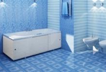 Выбор специальных обоев для ванной комнаты