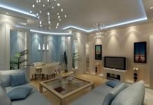 Светодиодные ленты на потолок