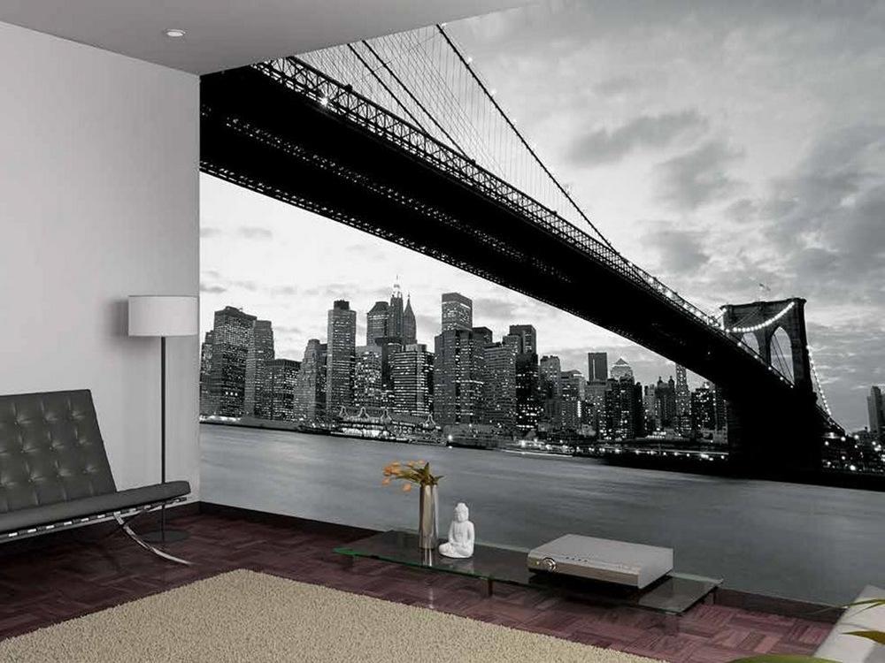 Фотообои города на стену картинки