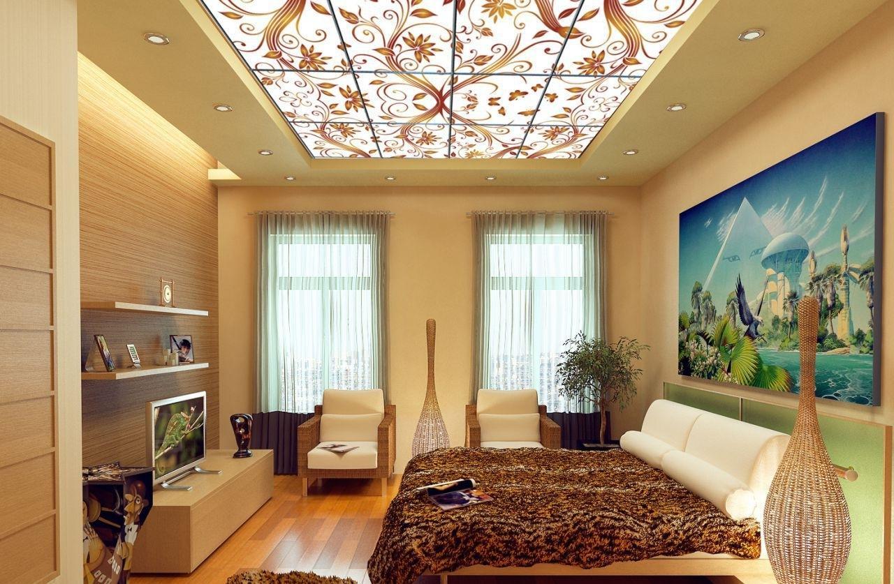 это какие делают потолки в квартирах фото конек