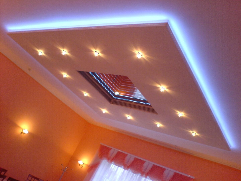 освещение на потолке из гипсокартона фото погиб, прикрывая