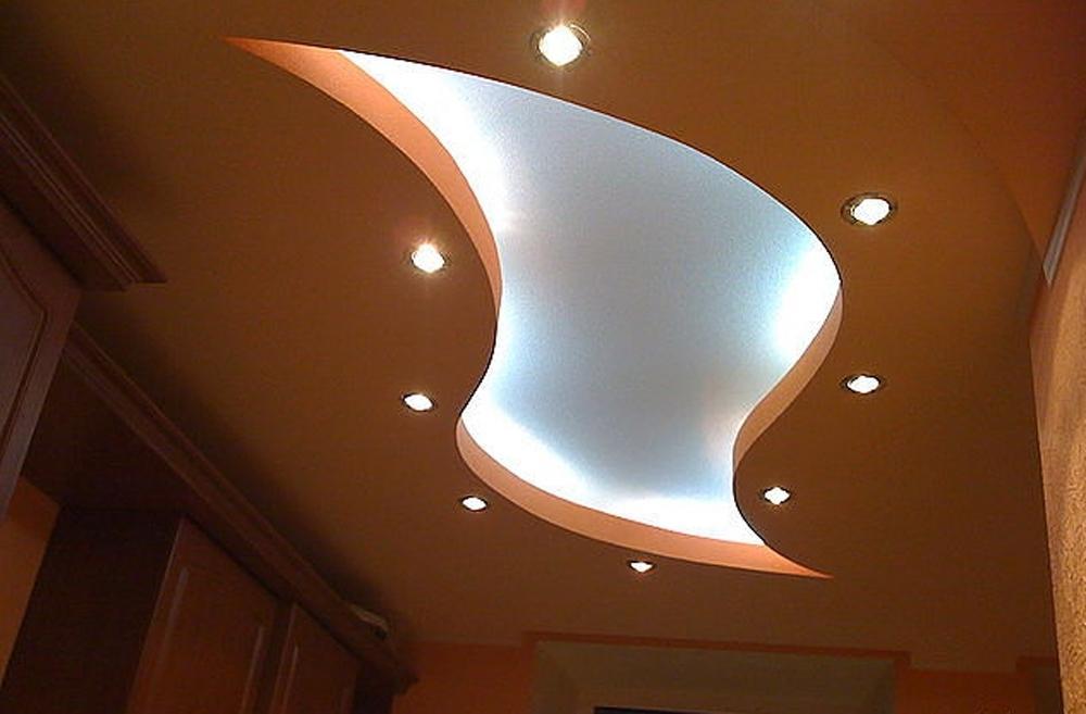 данной гипсокартоновые потолки фигуры фото удачного дизайна