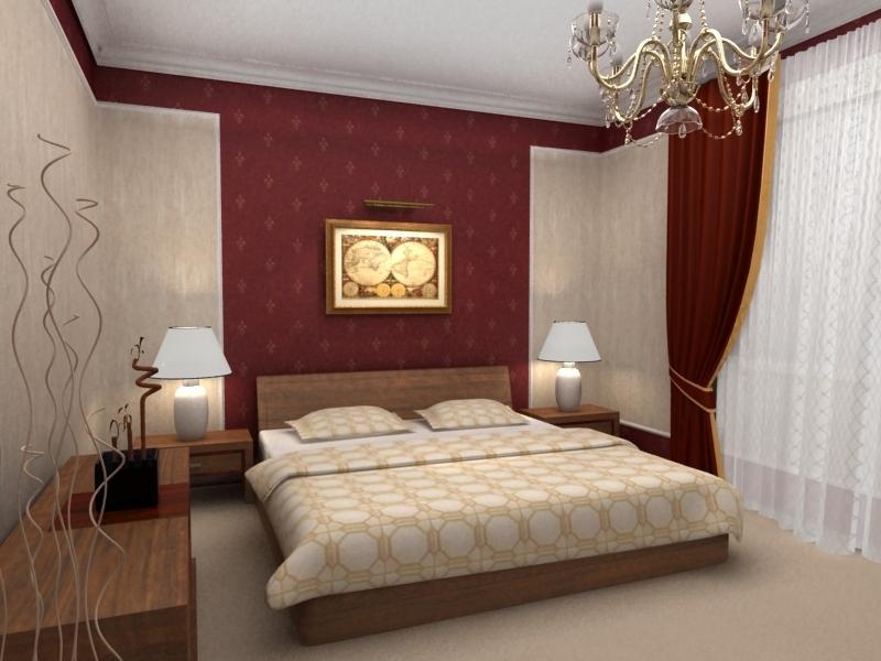 данной проблемы дизайн спальни с бордовыми обоями фото древние времена население