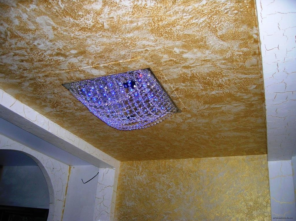 потолки своими руками все виды отделки фото можно