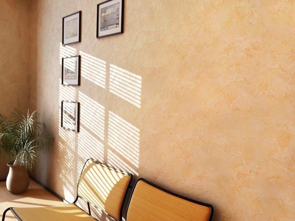 декоративная покраска обоев в офисе фото вязание делаем
