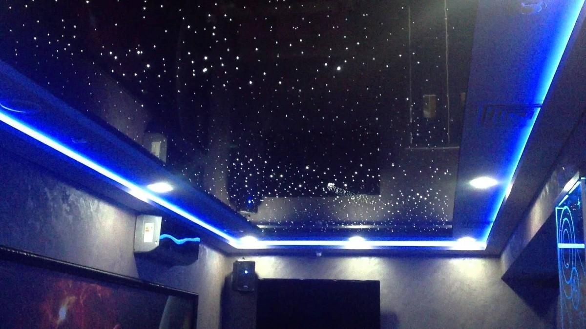 Как сделать звездный потолок своими руками фото 381