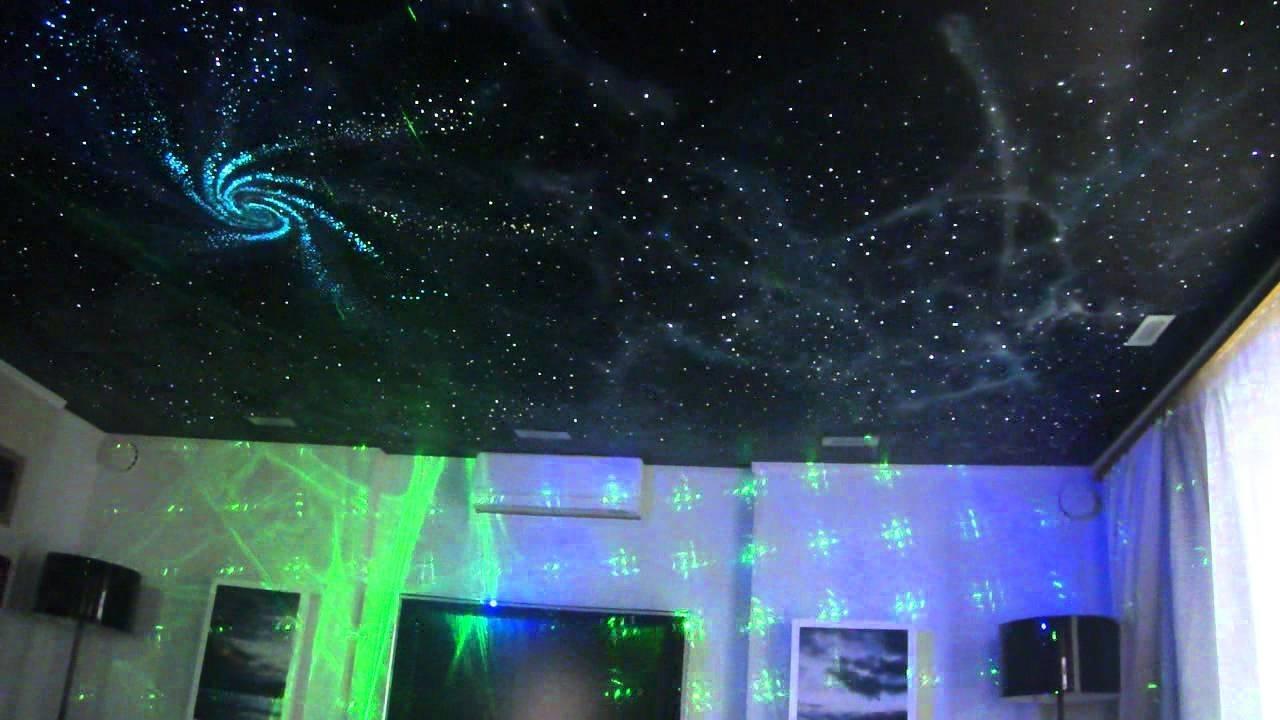 Как сделать натяжной потолок звездное небо фото 656