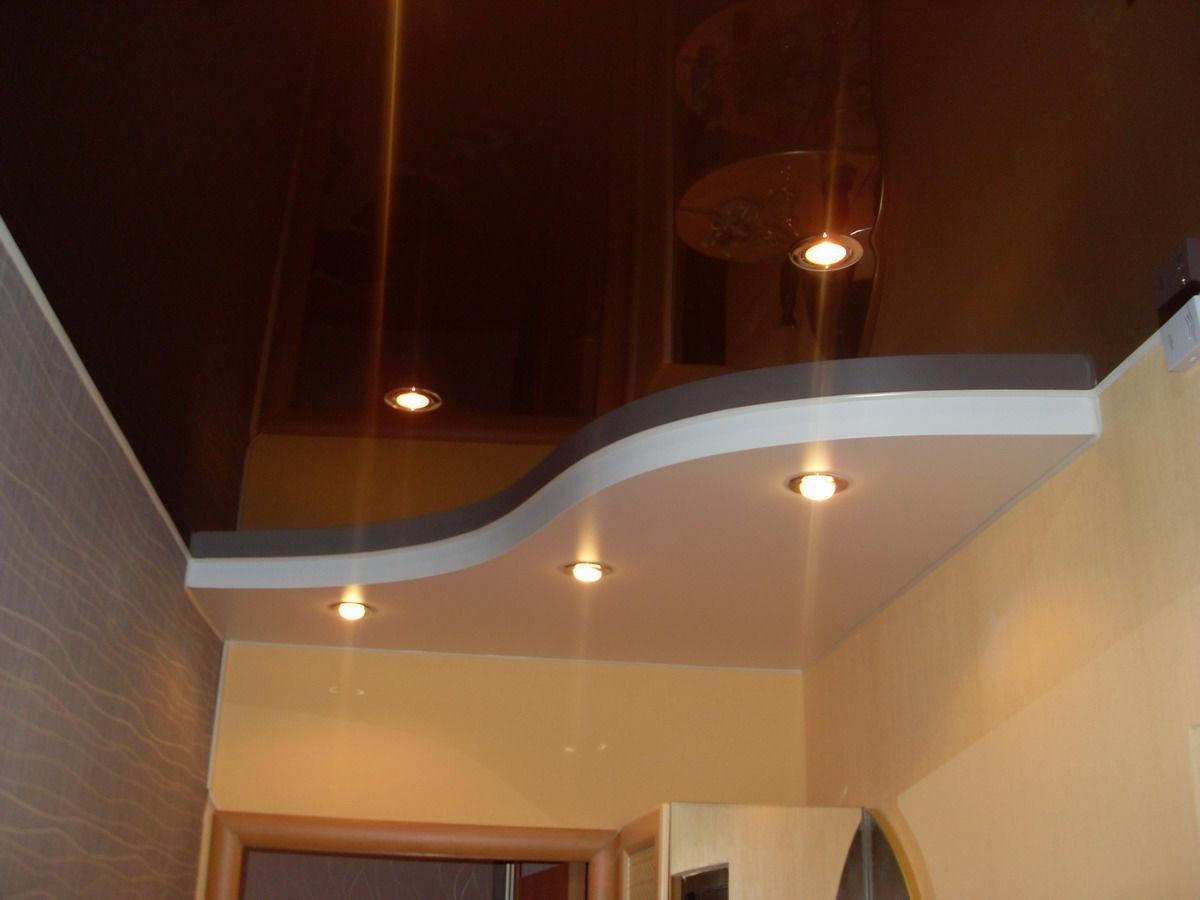 мебелью картинки коричневый натяжной потолок сегодня является