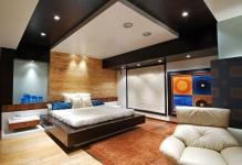 Дизайн потолка в спальне: 5 способов его украшения