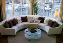 Good-living-Room-with-Chic-Furniture-of-Round-SEctional-Sofa-also-Cushion-
