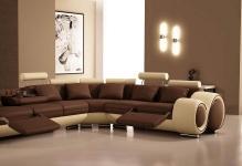 Modern-brown-living-room-painting-ideas-