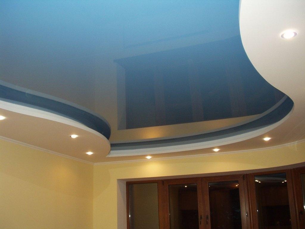 Двухъярусный потолок картинки