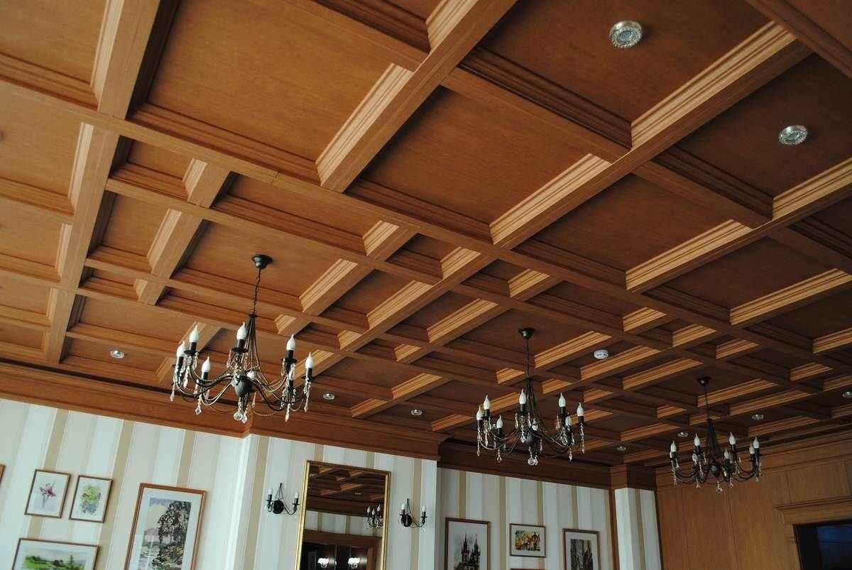 Потолки фото подвесные из дерева