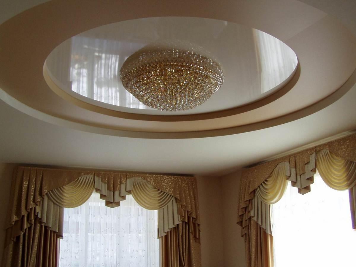 проявляется бледными натяжные потолки трехуровневые круг фото подготовка