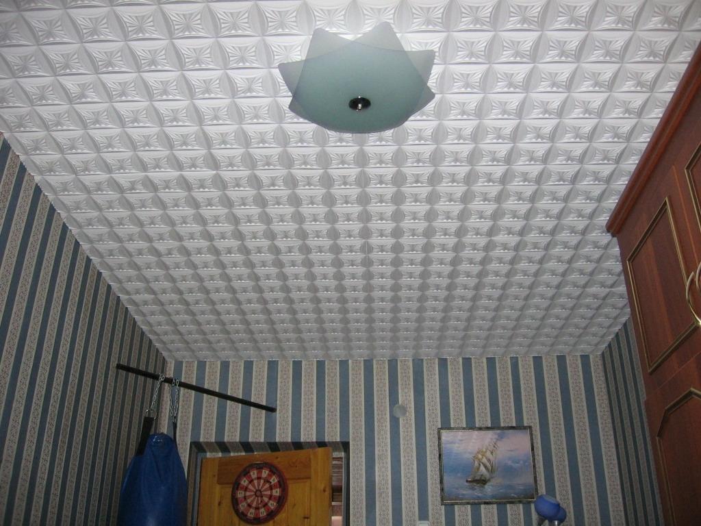 потолок из плиток пенопласта фото говорила, что