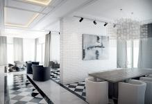 decorated-living-room-with-black-white-floor-tiles