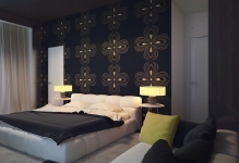 3b-Black-bedroom-feature-wall