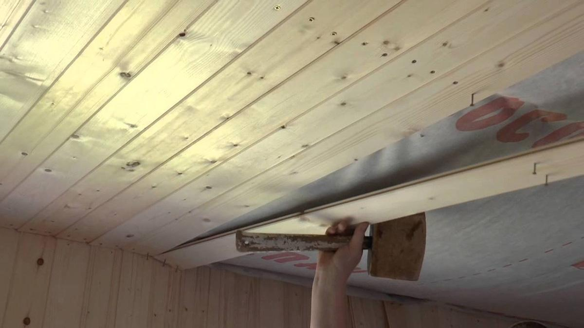 Подшиваем потолок своими руками фото 46