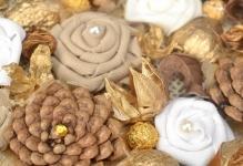 Декоративное панно из природных материалов: 5 творческих идей