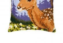 1200-130-Deer-Profile-40x40-cm