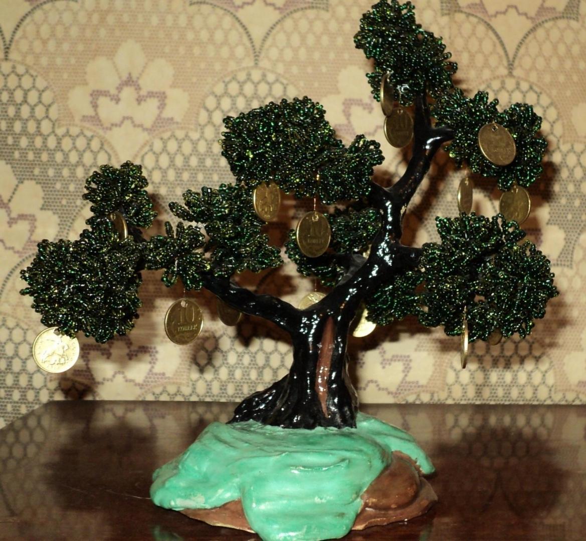 Бисероплетение деревьев цветов схемы мастер классы