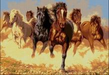 Популярные 5 схем вышивки крестом – Лошадь