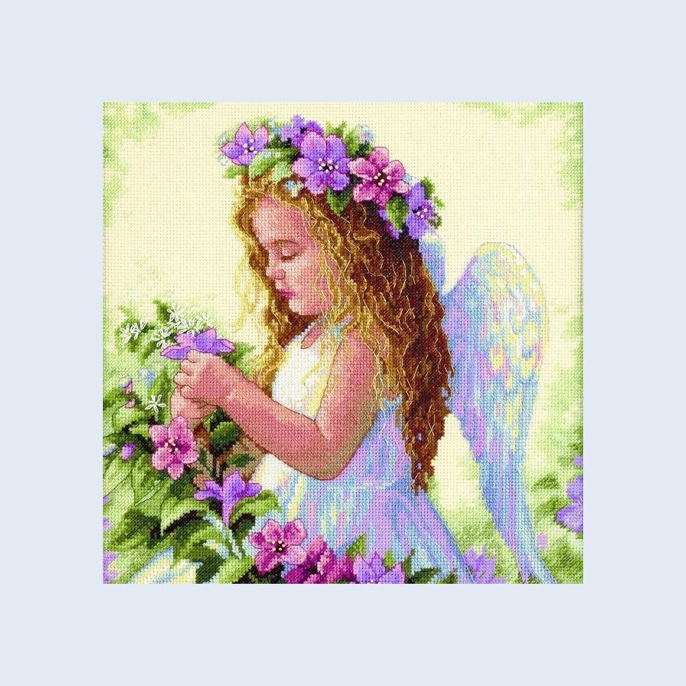 Ангел схема вышивки скачать бесплатно
