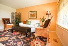 traditional-living-room-orange-accent-wall