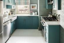 Small-kitchen-uses-wallpaper-in-a-beuatiful-manner-Custom