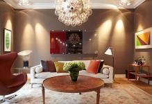 Тонкий выбор: картины в интерьере гостиной