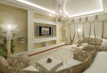 Самые современные идеи и варианты дизайна гостиной