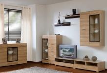 Красивая мебельная стенка для гостиной: 3 стилевых направления