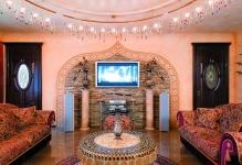 Gorgeous-Track-Lamps-above-Wonderful-Sitting-Room-Dream-Home-Ideas-with-Round-Table