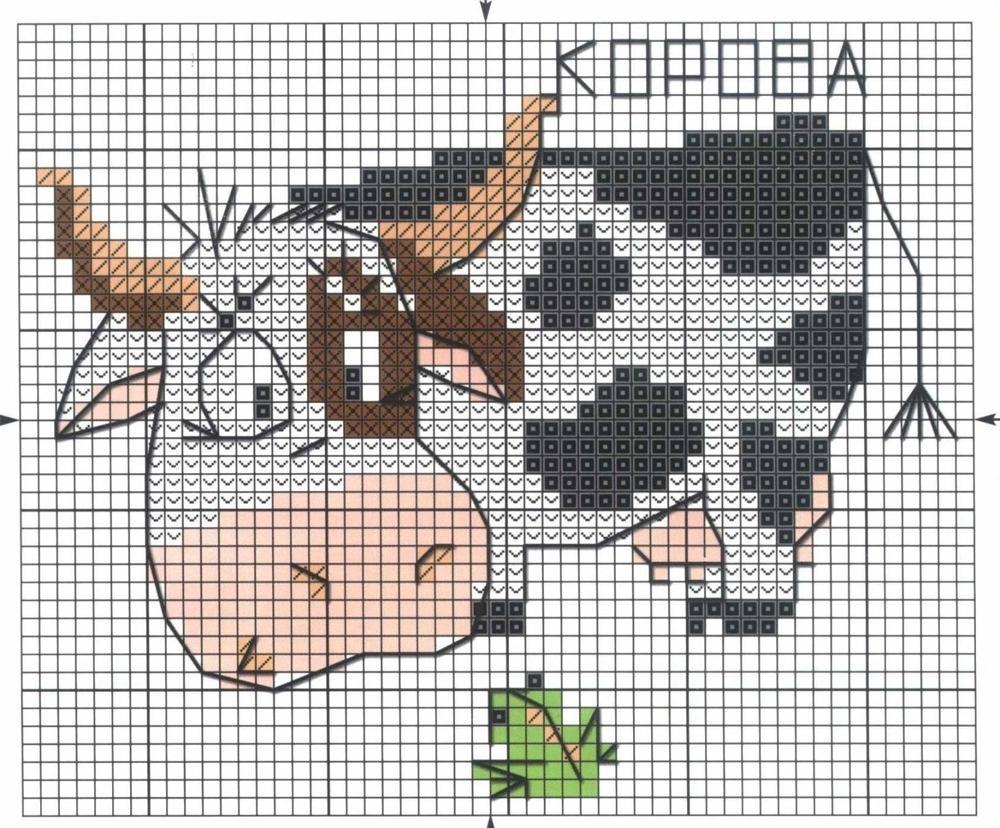 Схема вышивки крестом для начинающих фото 630