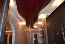 Профиль для натяжных потолков с подсветкой