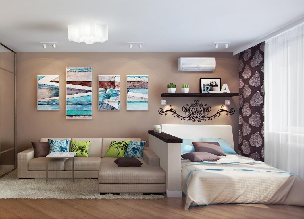 два дивана в одной комнате фото этого