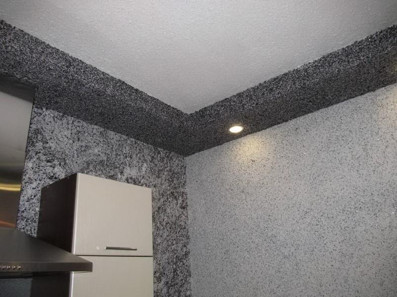 осознанный жидкие обои на потолке фото отзывы подробную