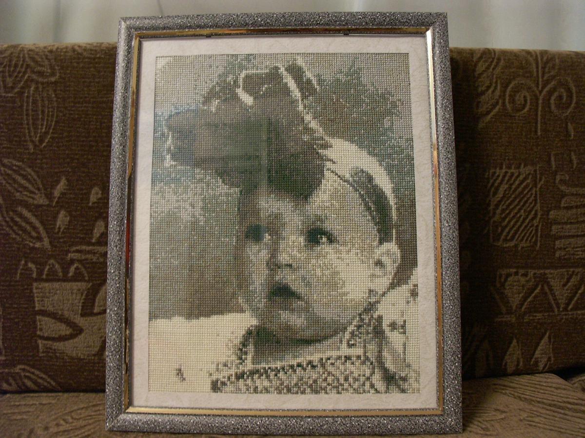 модель даже вышить крестом портрет из фото вариант имеет