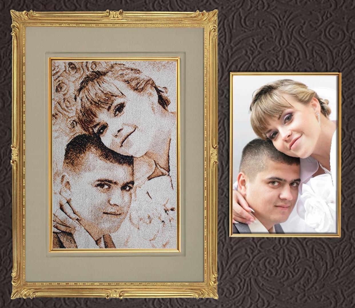 Создать схему для вышивания крестиком с фотографии