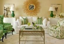 green-color-in-interior-