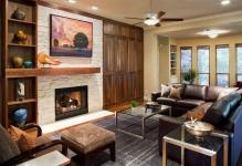 living-room-contemporary-fantastic-decor-ideas-in-austin--