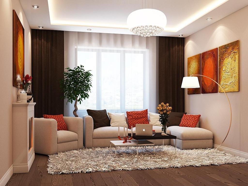 простой дизайн гостиной в картинках подготовили