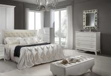 Интерьер спальни в светлых тонах фото и 3 преимущества белой мебели