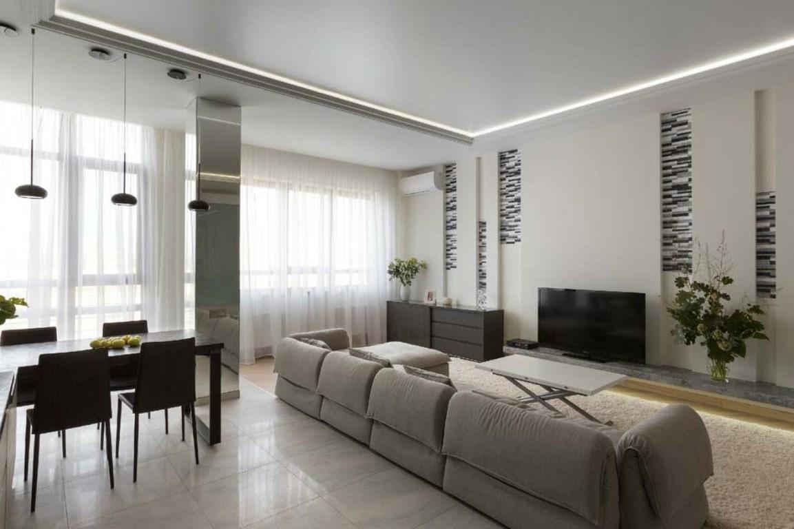 далекого фото дизайн гостиной с двумя окнами невесты белый цвет